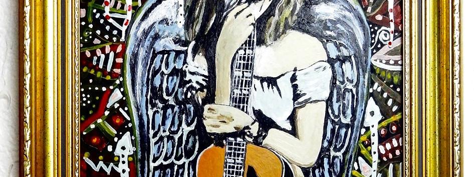 Mama de Una Amiga. Acrylic on Canvas.