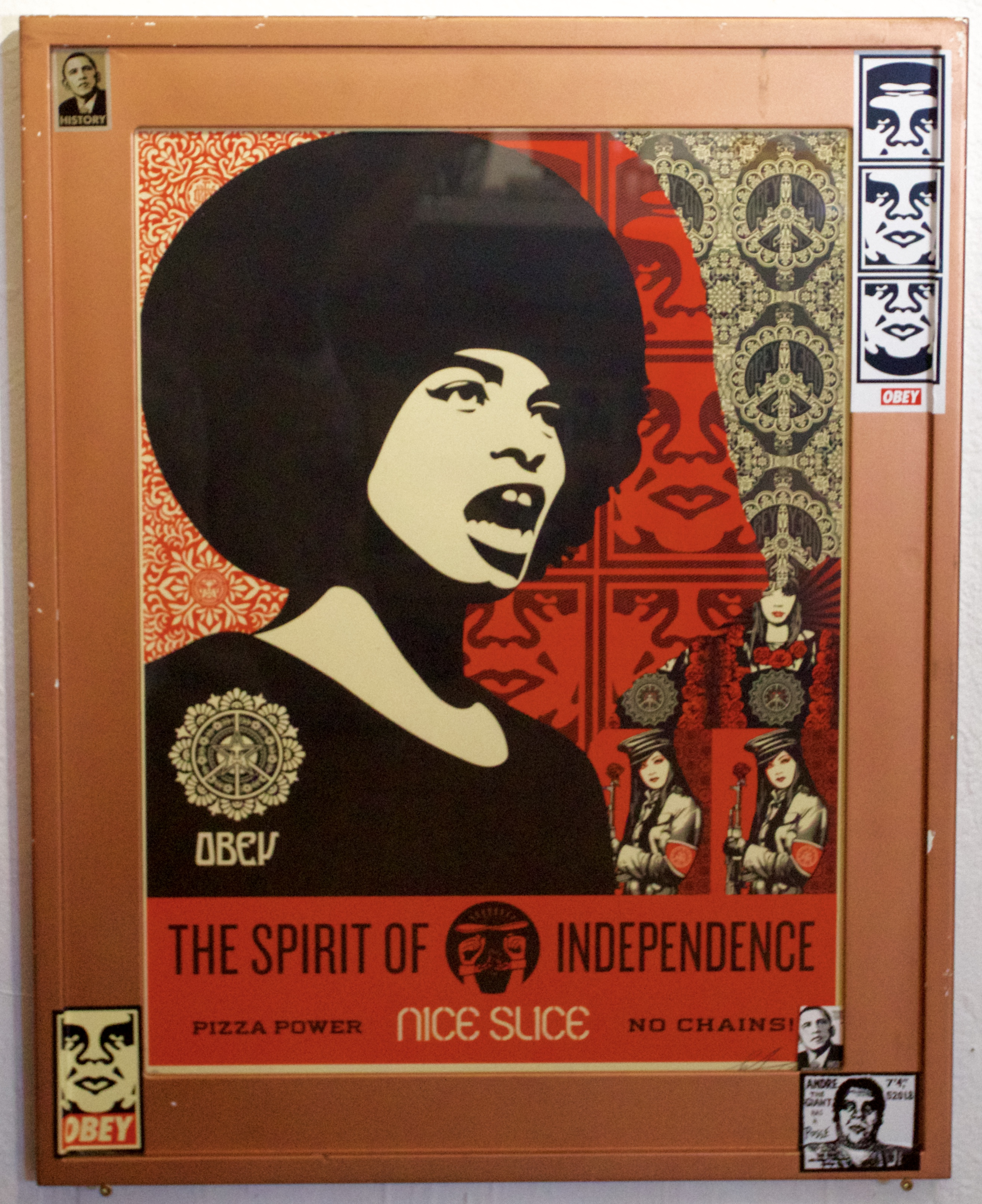 Obey Giant Angela Davis