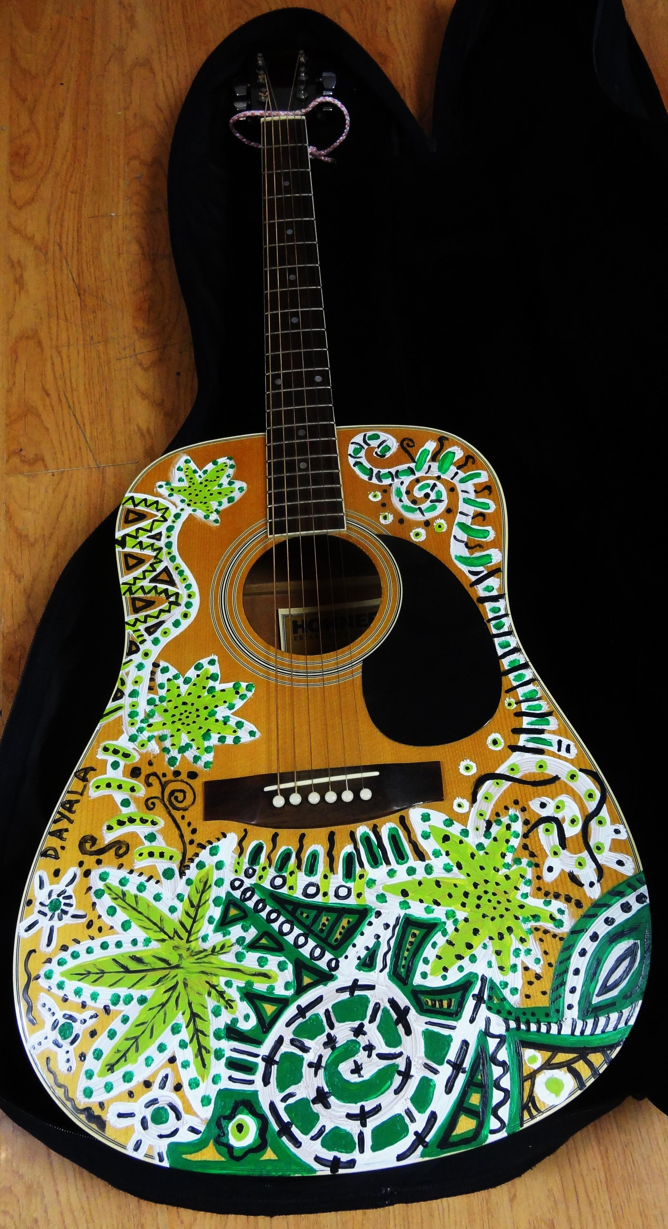 Cannabis guitar