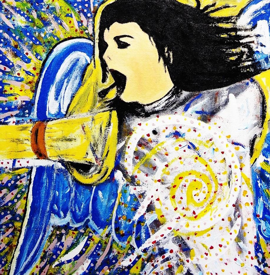 Michael Jackson. Acrylic on Canvas.