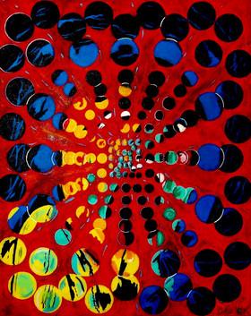 Scream. The Cult to LSD. Acrylic on Canvas.