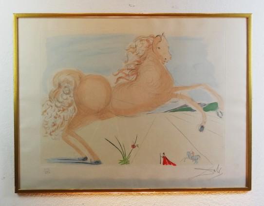 Salvador Dalí Lithograph