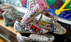 Commissioned Hand Painted Shoes