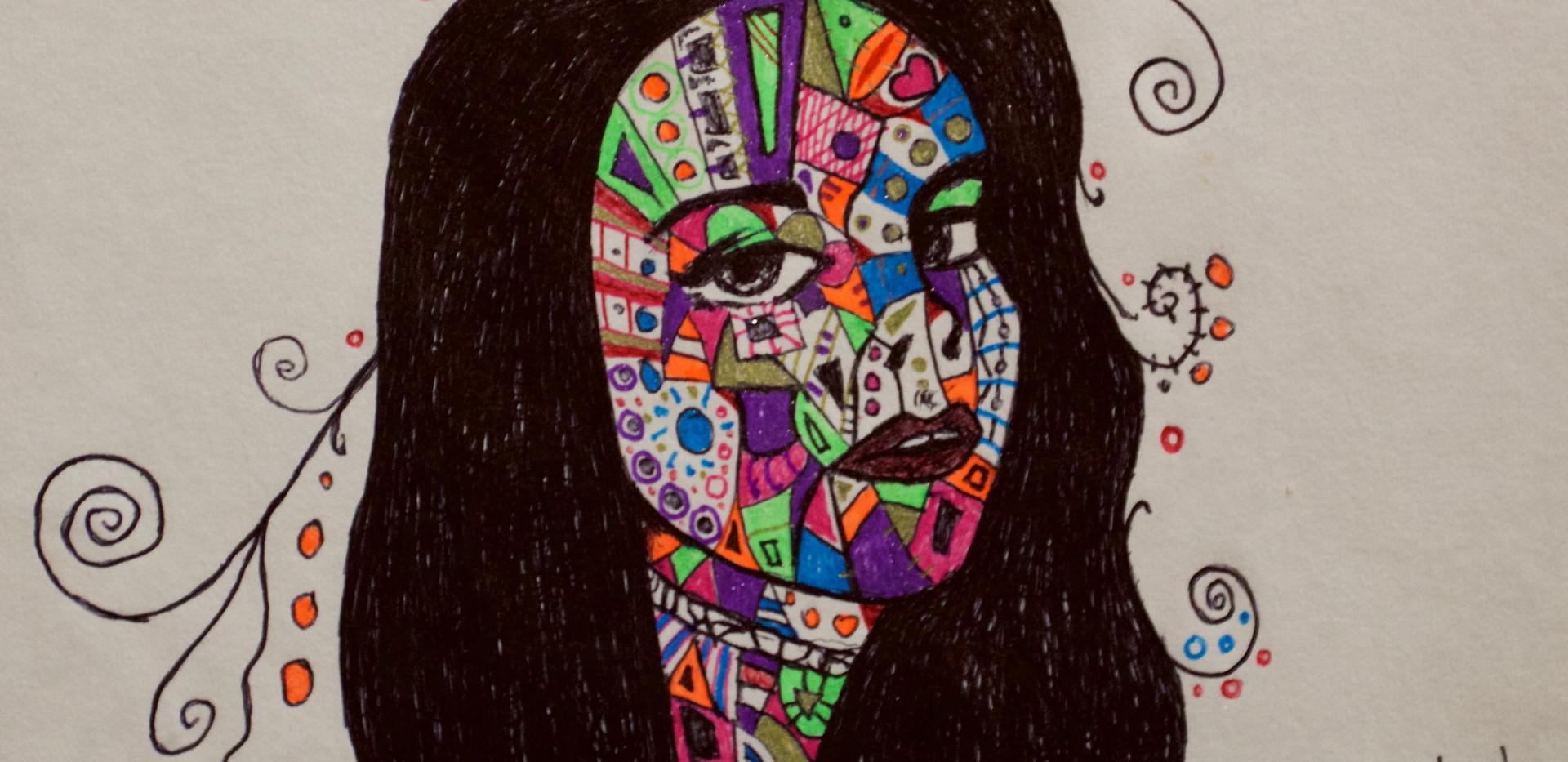 Lana Del Rey. Drawing.