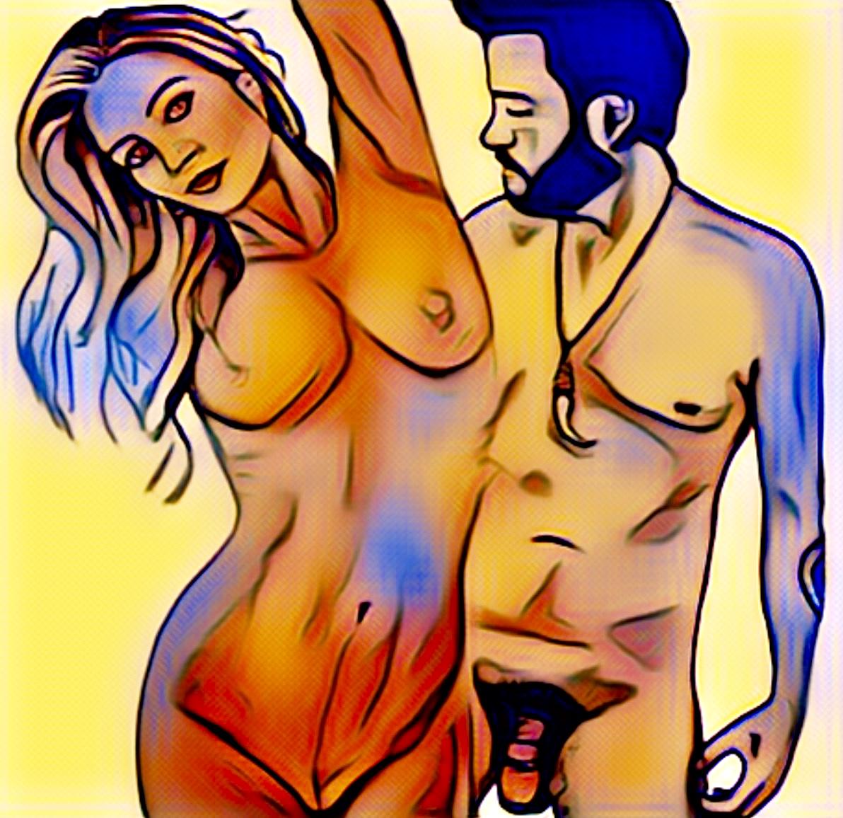 Digital pastel art
