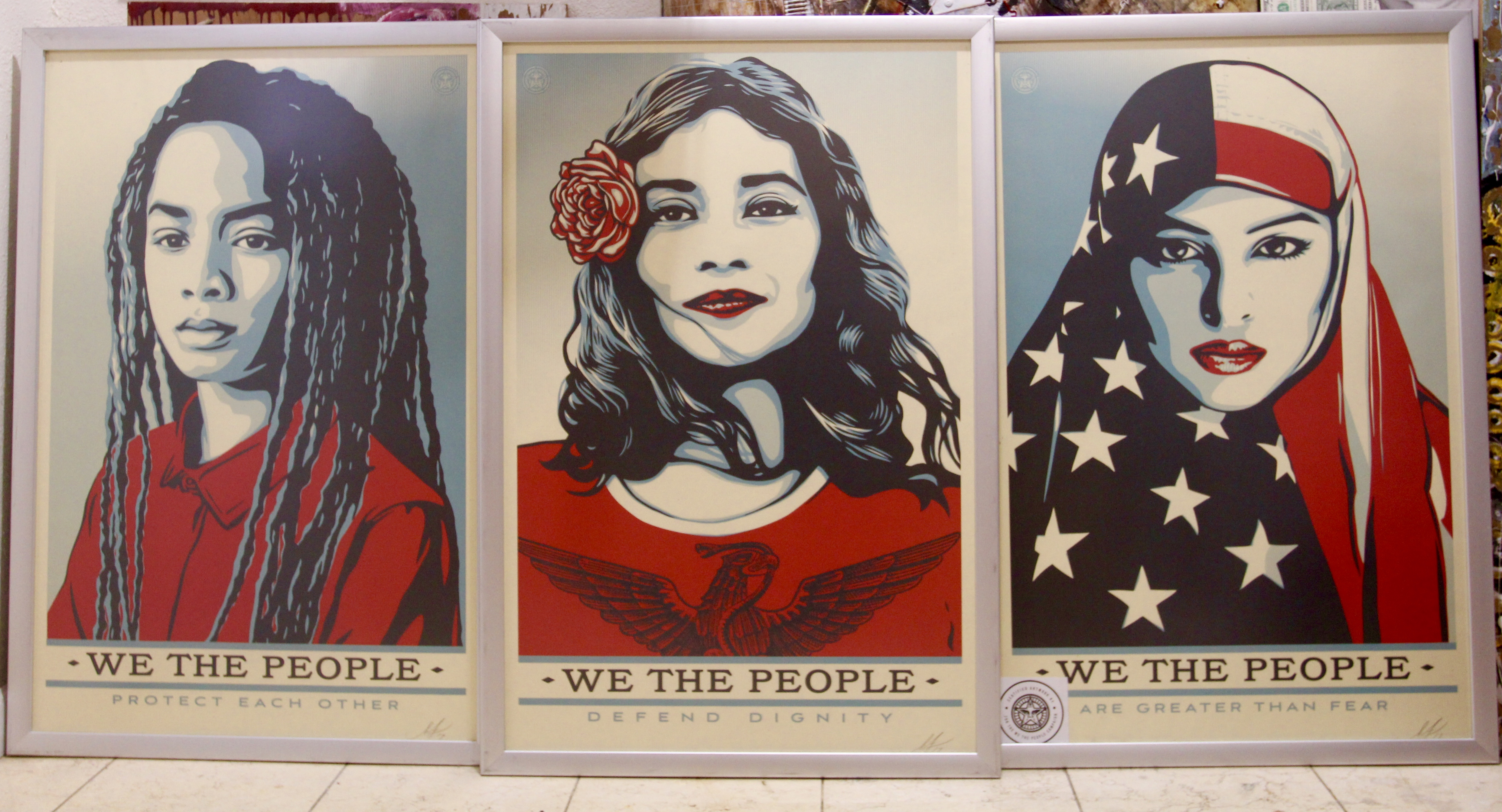 We the people lithograph series.
