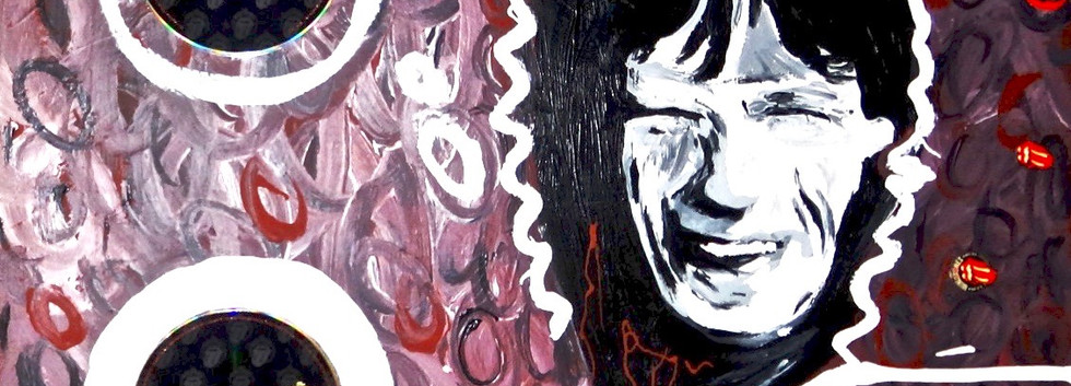 Mick Jagger Collage.