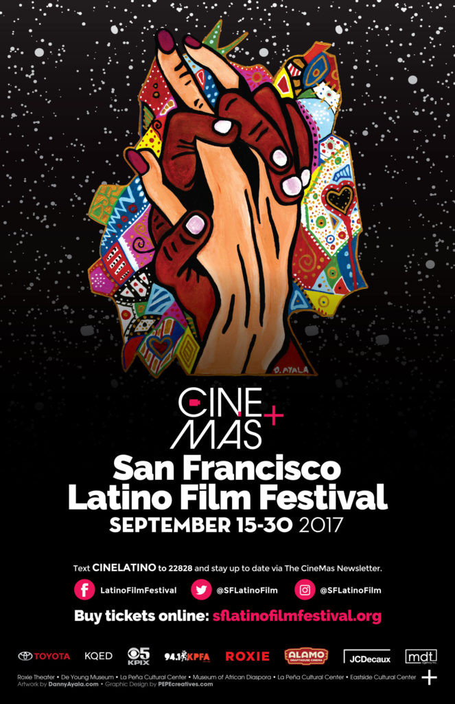 It's an honor to participate with my art this year at the San Francisco Latino Film Fest.