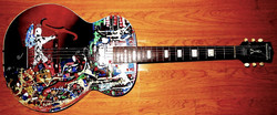 Custom Painted Guitar.