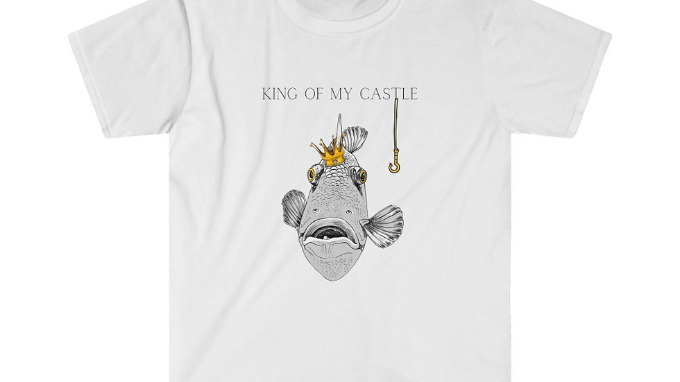 T-shirt Softstyle - King of my Castle - King Fish