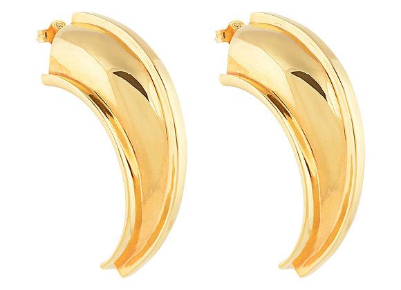 Gold Talon Earrings
