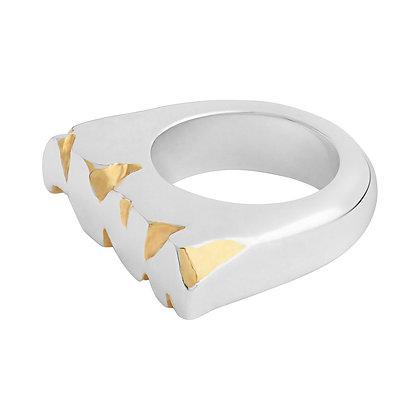 Gold Cracks Rings
