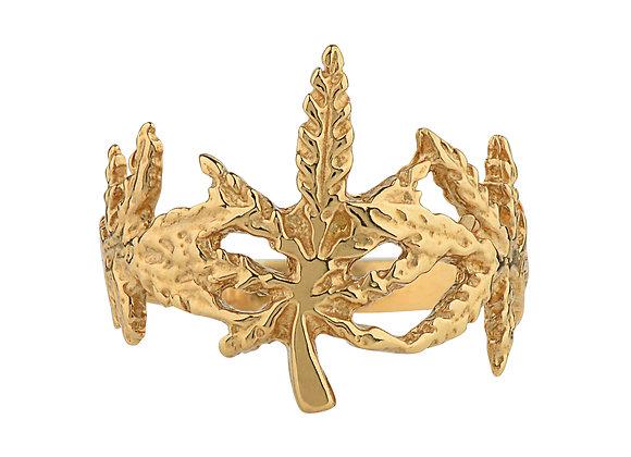 Leaf Crown Ring