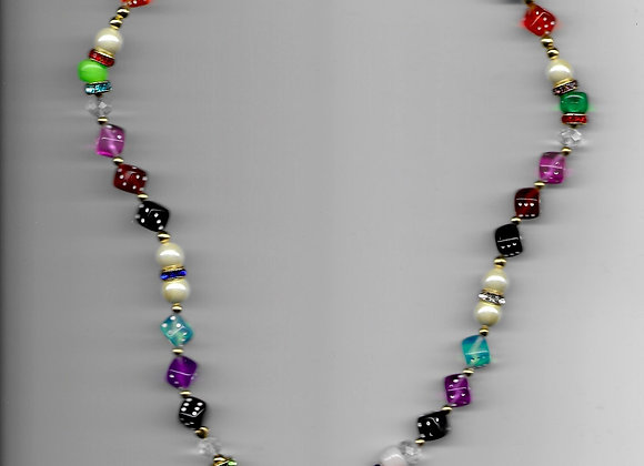 XOXO Beaded Necklace
