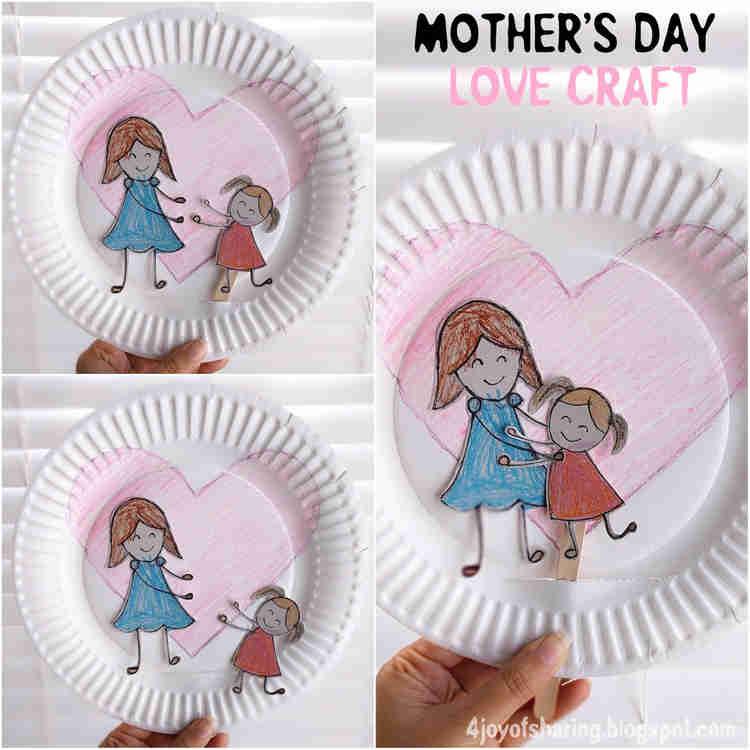 γιορτή της μητέρας κατασκευές