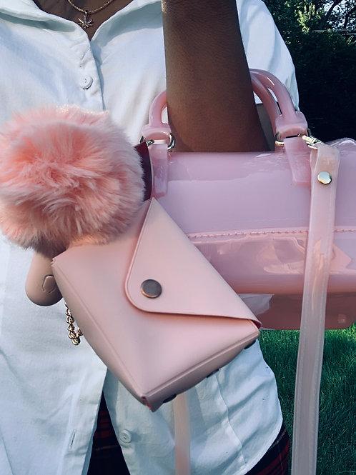 Custom Album Keychain and Airpod Case (pink)