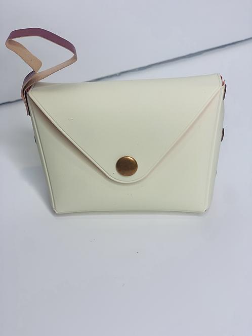 Custom Album Keychain/Dainty Coin Purse (white)