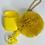Thumbnail: Puff Ball Airpod Case (yellow)