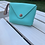 Thumbnail: Dainty Coin Purse (Turquoise)