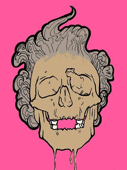 the queen is dead print