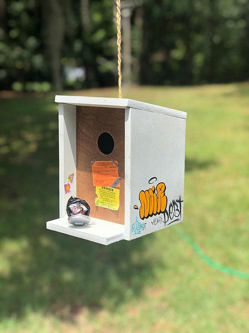 traphouse birdhouse