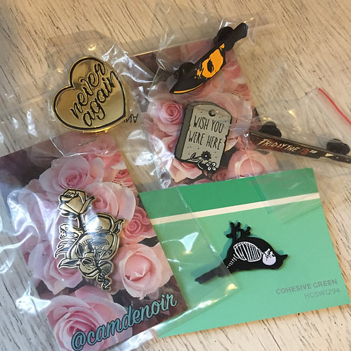 enamel pin bundle