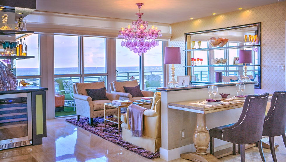 Bentley On The Beach Miami Beach Interior Design Living Room