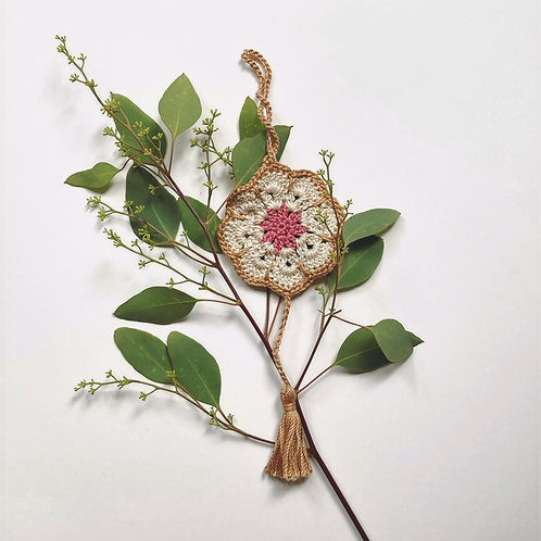 Flower Power Bookmark