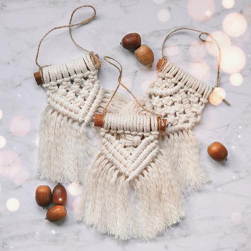 Macrame Ornament Sets