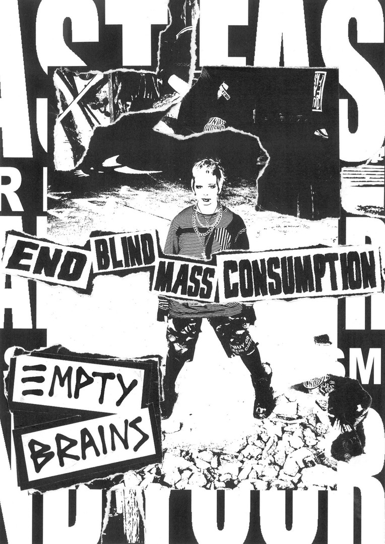 Empty Brains 2020 Collection Zine Page 1