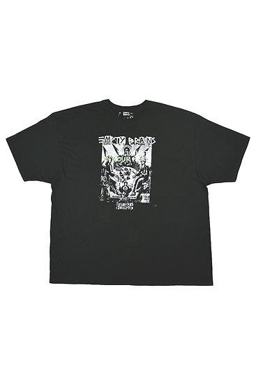 Black Overprint Gambling Angels T-Shirt 4XL