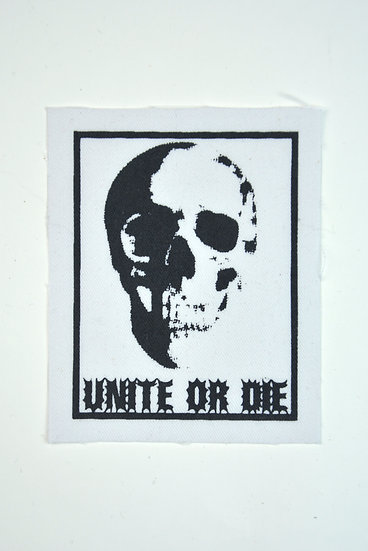 Unite Or Die Skull Size Small