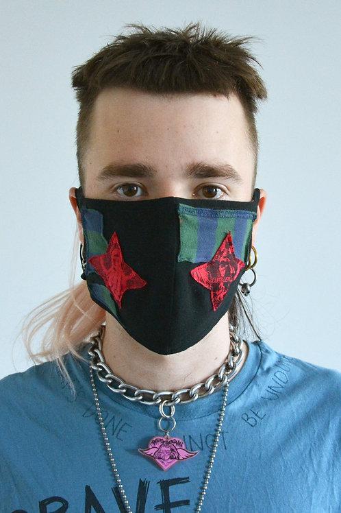 Capitalist Stars Face Mask