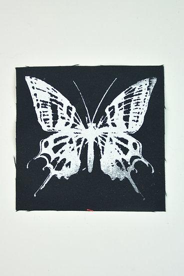 Black Butterfly Patch Size Medium