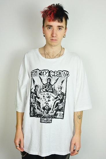 Gambling Angels White Boxy T Shirt