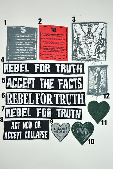 Protest Patches £3 each