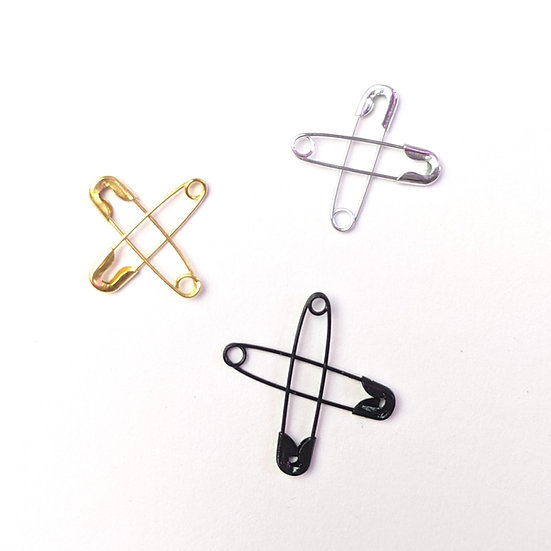 SAFETY PIN CROSS