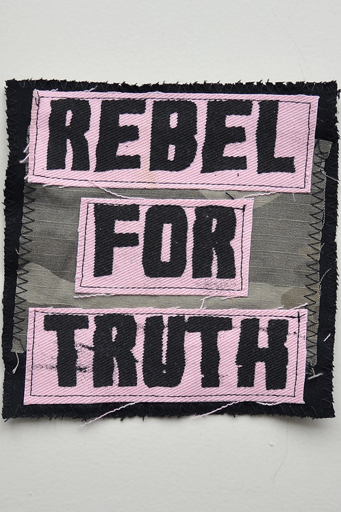 Rebel For Truth Collage Patch (Medium)