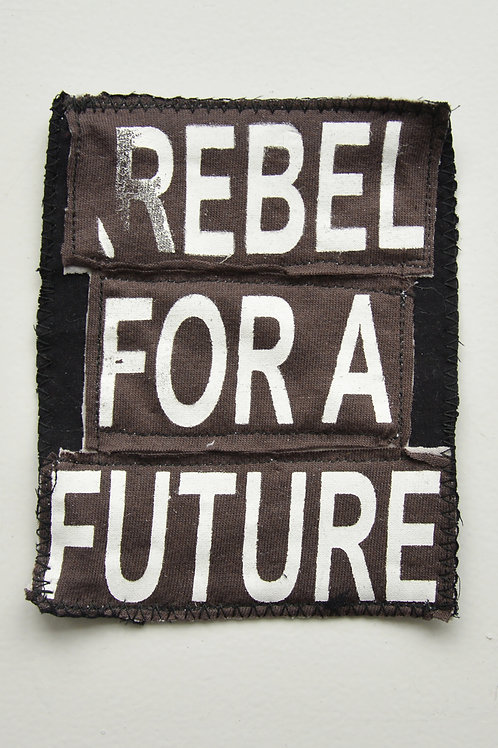 Rebel For A Future Brown Patch (Medium)