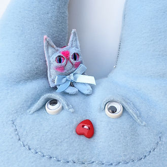 angel brains kawaii plushie toy keyring earring toy monster mini