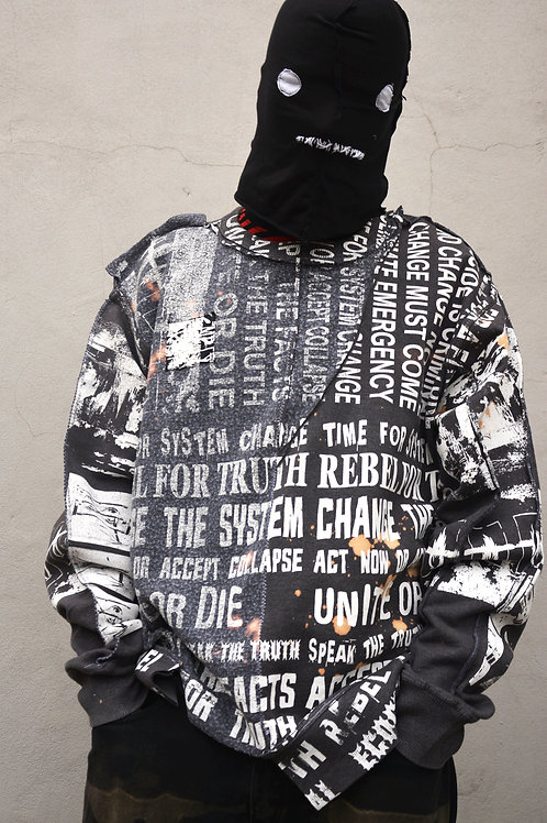 CLIMATE REPEAT CUT AND SEW SWEATSHIRT