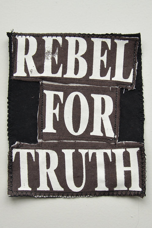 Rebel For Truth Brown Patch (Medium)