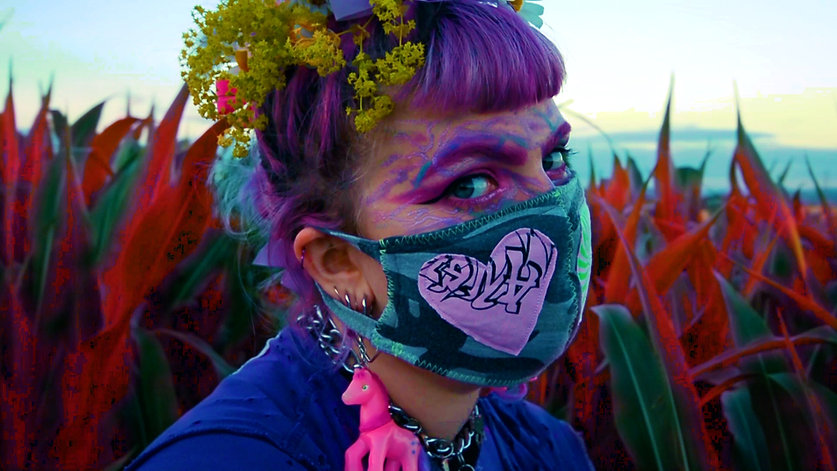 Angel Brains Masks Photoshoot