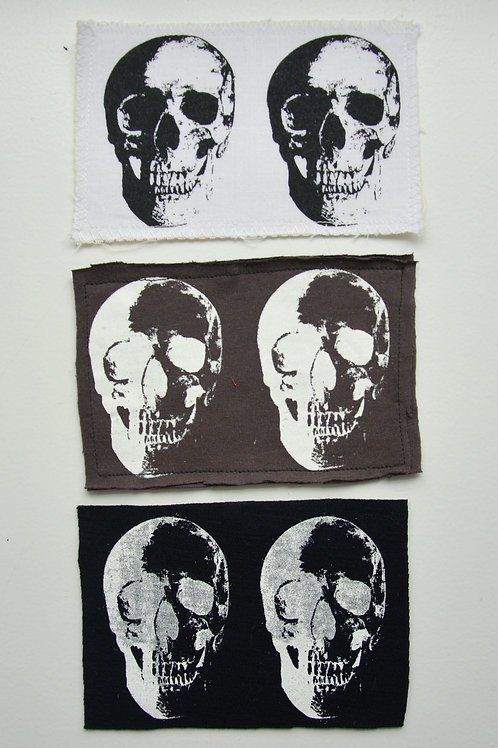 Double Skull Patch (Medium)