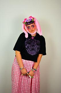 Angel Brains kawaii punk j fashion graphic tee sustainable uk