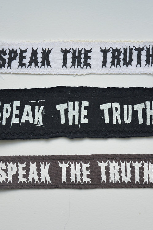 Speak The Truth Patch (Small)