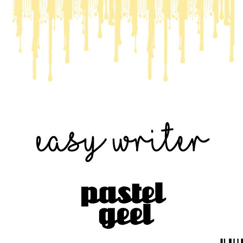 EasyWriter Pastel Geel
