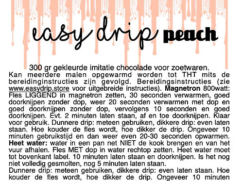 EasyDrip Peach 300gr