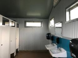 Interior Biagi Stage Restrooms