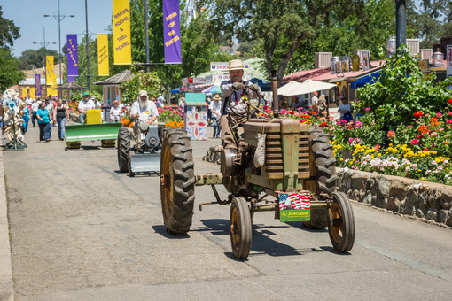 ANTIQUE TRACTOR PARADE